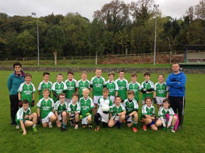 Cumann na mBunscol 2015. We have qualified for the East Kerry semi final