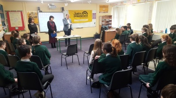 Thanks to David Rea from Celtic Steps the show who visited our 5th and 6th class pupils as they prepare for the Junior Entrepreneur Programme